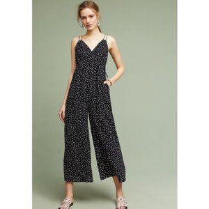 Maeve Finley Polka Dot Wide Leg Jumpsuit